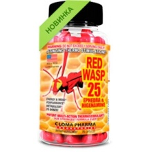 Жиросжигатель Cloma pharma RED WASP 25ephedra 75 caps