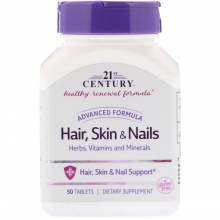 Витамины 21st Century Hair, Scin&Nails 50 капсул